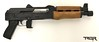 "The (Yugo) PAP M92 is an AK style pistol made by the Zastava factory in Serbia and imported by Century Arms. It's built on a stamped receiver, has a 10"" barrel, weighs roughly 6 lbs and is chambered in 7.62x39mm. (pictured with the infamous CA ""bullet button"")"