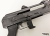 "One feature I particularly like is the Krinkov style hinged dust cover with rear sight. Having the rear sight on the dust cover extends the sight radius and the hinge allows for repeatable zero, close enough to anyways. It is for this reason I chose the PAP over the Draco. The Draco is another AK pistol variant that has a shorter barrel at 7.5"" and a smaller sight radius. Both are in the same price range."