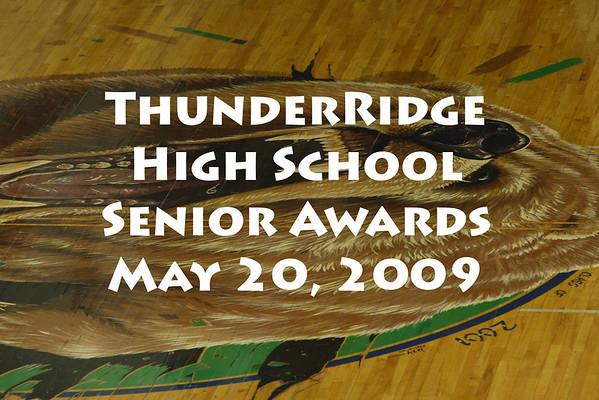 2009 Senior Awards 05/20/09