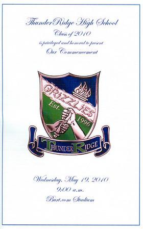 2010 TRHS Graduation 05/19/10