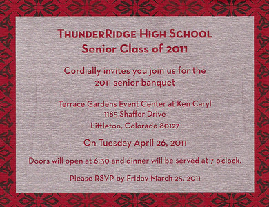 2011 TRHS Senior Banquet (Taylor) 04/26/11