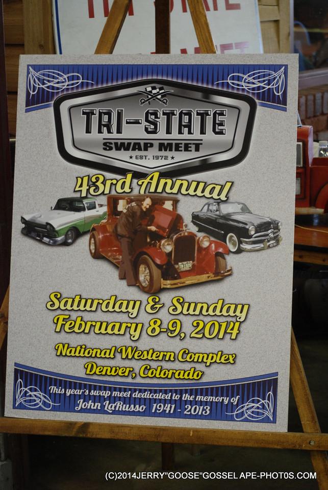 TRY - STATE SWAP MEET EST 1972 43 ANNUAL, @NATIONAL WESTERN COMPLEX, DENVER, COLORADO