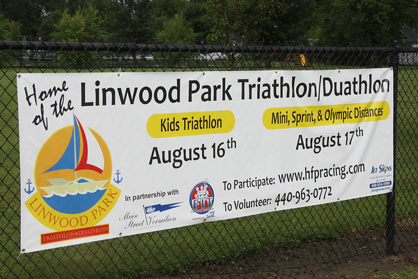 August 17, 2014. Vermilion, Linwood and HFP Racing host a Triathlon