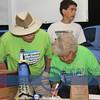 ? and Nan Gregory at Volunteer Registration Desk at 6 AM !