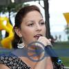 Vermilionite, Elizabeth Matijasic, singing the National Anthem.