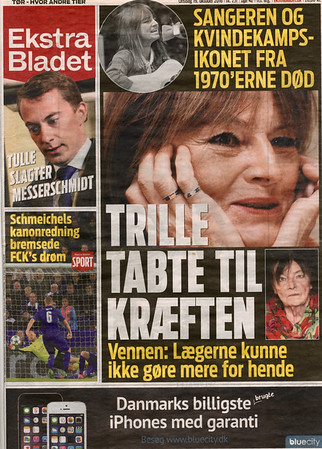 TRILLE DØD, 71 ÅR