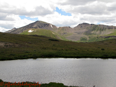 Scenery at the summit of Independence Pass.