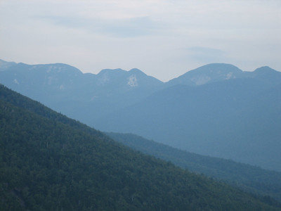 Zoomed in on the Lower Great Range.