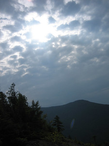 Sun sun, merciful one.  10 points if you know the song reference.  The sun tried to break through about an hour into the hike, and finally did (off and on) later.