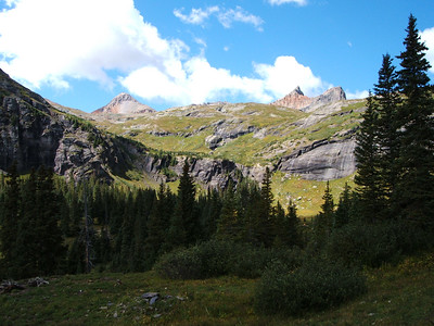 Lower Ice Lake Basin.