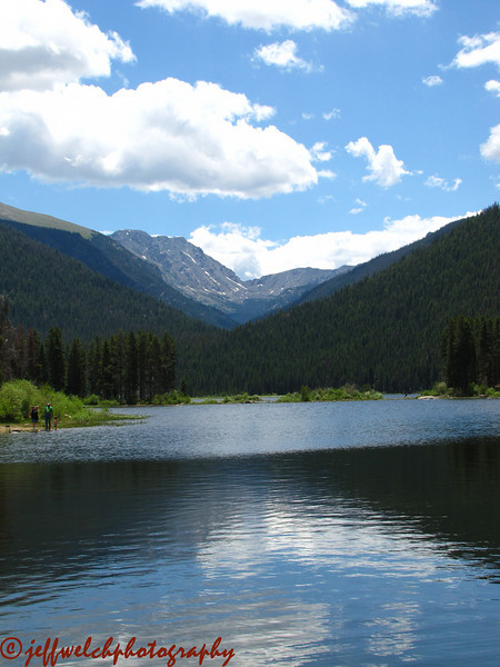 Monarch Lake from the trailhead.