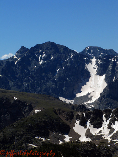 I think this is the Fair Glacier on Apache Peak.  I skied the other side of Apache earlier in the week.