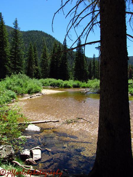 Back down near Monarch Lake.  Just a lazy Colorado stream.