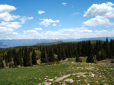 Looking back out at the Sawatch Range again.