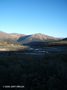 Another shot looking northwest over the beaver ponds at Guanella Pass.