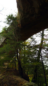 Sky Bridge, one of the many natural arches found in the Gorge.