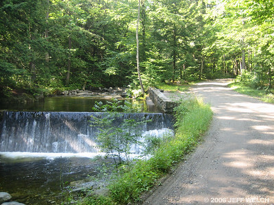 The Ausable Club has kept their land pristine, not modifying it in any way.