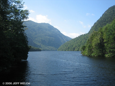Lower Ausable Lake and Mt. Colvin.