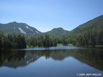 Colden and Marcy Pond.
