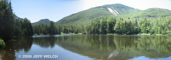Wright Peak from Marcy Dam.