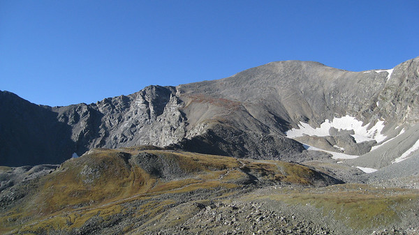 Grays Peak across the basin.