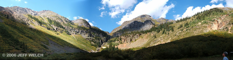 Just a cirque alongside the road on Red Mountain Pass (between Ouray and Silverton).