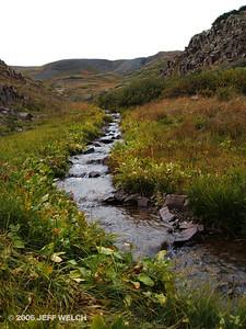 Alpine stream.
