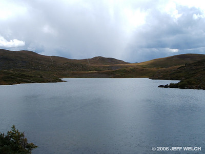 This is definitely the second lake you come to.  Quite large for an alpine lake.