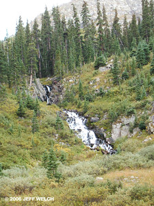 Face it, waterfalls are cool.  Especially wilderness waterfalls.