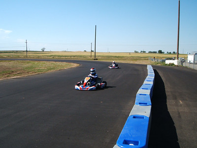 Testing out my stock moto 125cc shifterkart at IMI Motorsports just north of Denver on 6/23/2007.