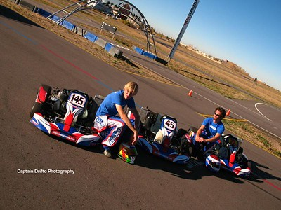 The fleet of practice karts for the day. Photo by Captain Drifto.