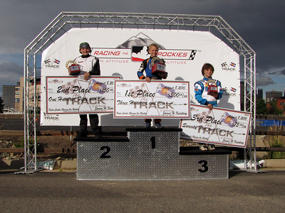 The MiniMax podium.