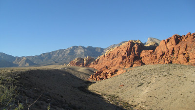 Calico Hills from the First Pullout (looking west towards the second pullout).