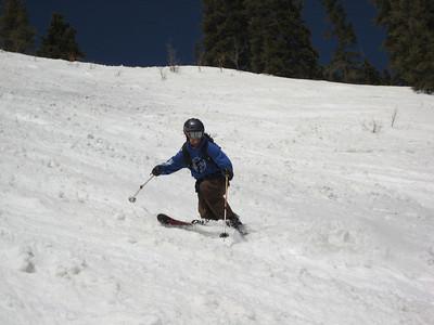 Me on Whip's Veneration.  Obviously enjoying myself. Photo: Doug