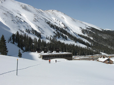 We started right from the west portal of the Eisenhower Tunnel. Photo: Dave Bahr