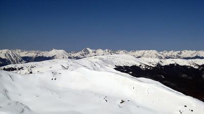 A distant Gore Range.