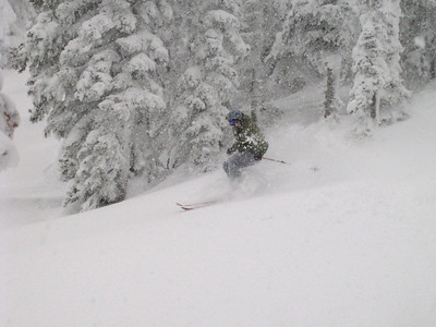 Larry finds pow!