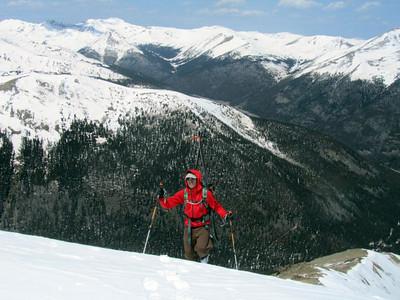 Me summitting.