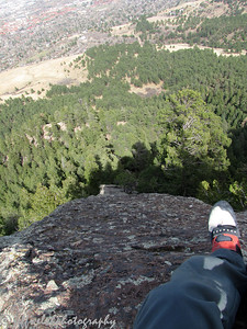 Round two.  The Spy (5.3) in the Flatirons.