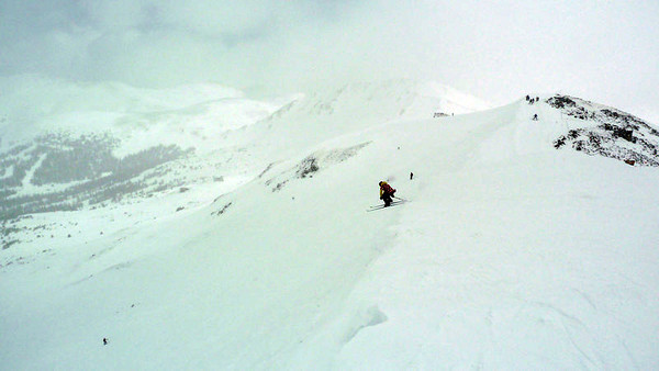 Hans pussed out of the 222cm Buzzards, but Dobish stepped up and sent the Primer Bowl cornice on them like a real man.