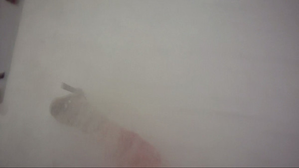 Late February, Crested Butte.  POV frame grab of a big 'ol faceshot!