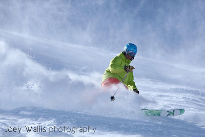 2.24.12: Day 35, Loveland Ski Area, CO.  Me in Patrol Bowl. Photo: J.Wallis