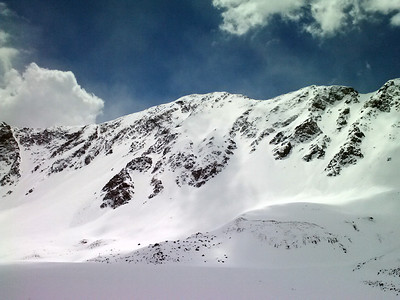 N face of Mt. Edwards.