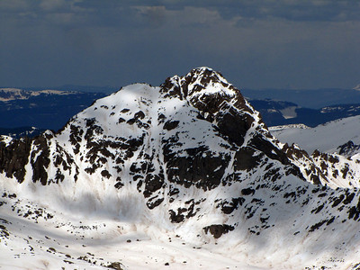An unnamed peak to the north that looks RAD.
