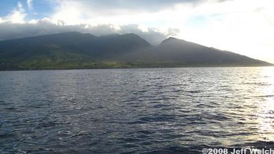 Back towards West Maui.