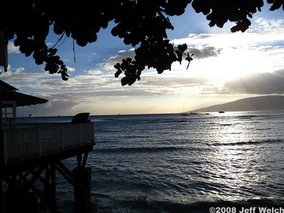 Late afternoon light in Lahaina.