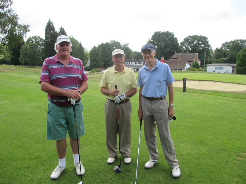 CHRIS, IAN & RICHARD 1st TEE HAYWARDS HEATH