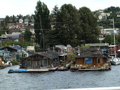 "One of these waterfront homes was a location shoot for ""Sleepless in Seattle"". Can't remember which..."