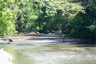 Rio Madrigal in Corcovado National Park, Osa Peninsula, Costa Rica, 1-26-09