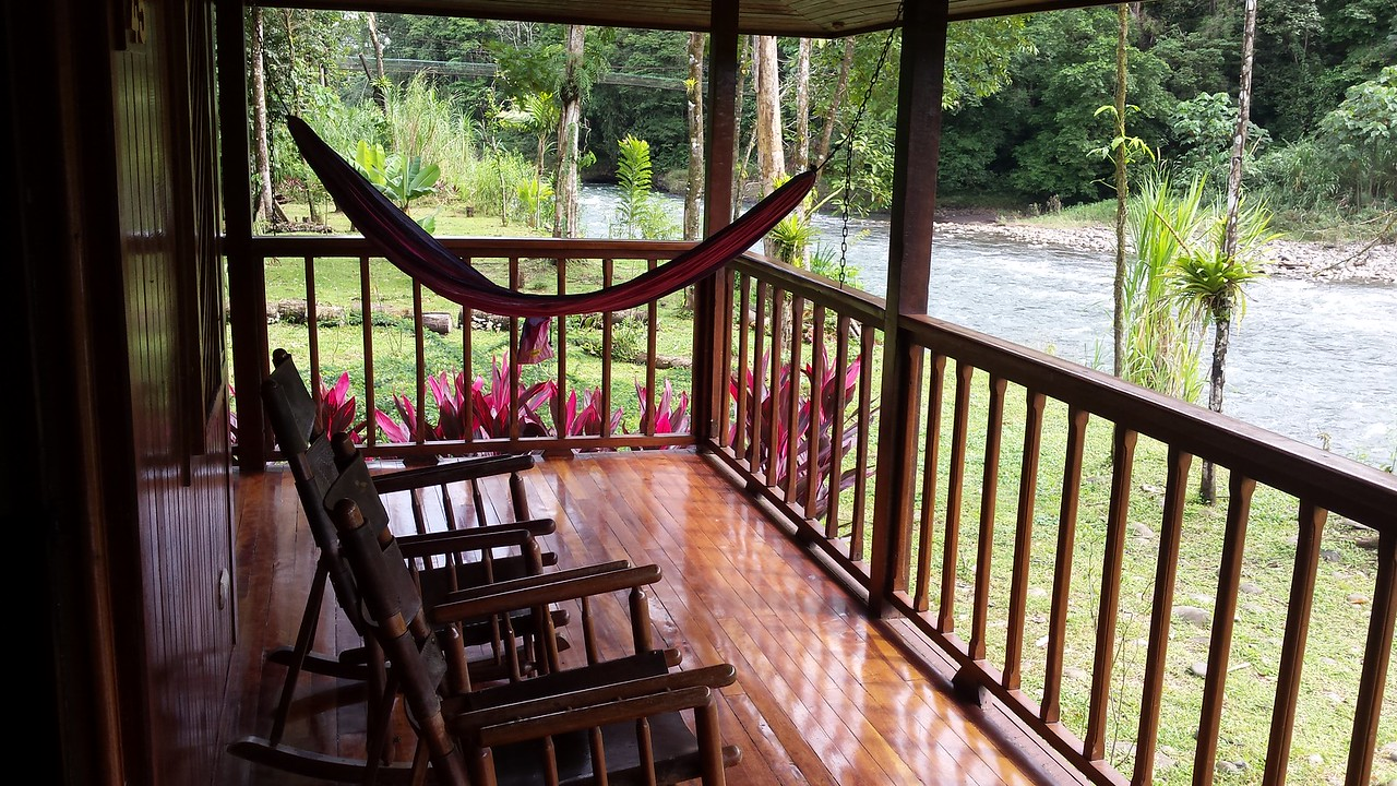 Porch of My Room Overlooking Sarapiqúi River
